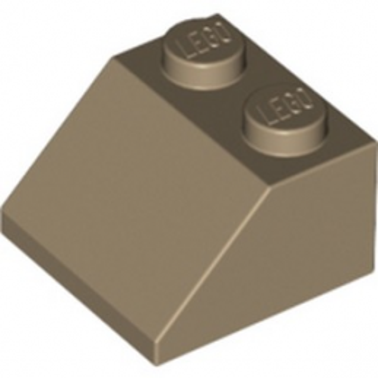 LEGO 6184880 TUILE 2X2/45° - SAND YELLOW lego-6184880-tuile-2x245-sand-yellow ici :