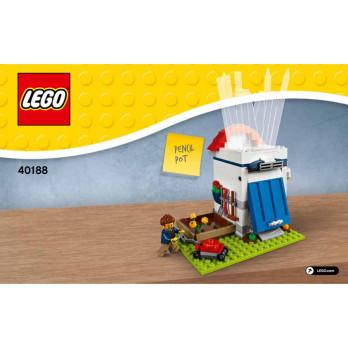 Notice / Instruction Lego 40188