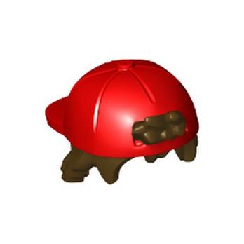 LEGO 6289340 CHEVEUX/CASQUETTE - ROUGE