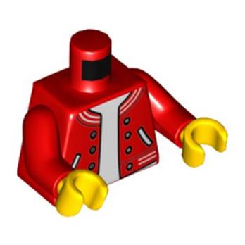 LEGO 6271140 TORSE VESTE ROUGE