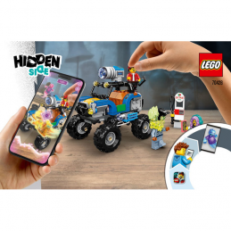 Notice / Instruction Lego Hidden Side 70428