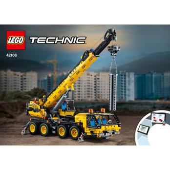 NOTICE / INSTRUCTION LEGO TECHNIC - 42108