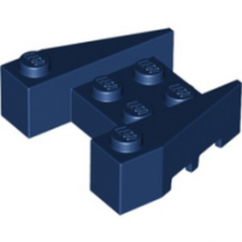 LEGO 6292946 BRIQUE 4X4/18° - EARTH BLUE