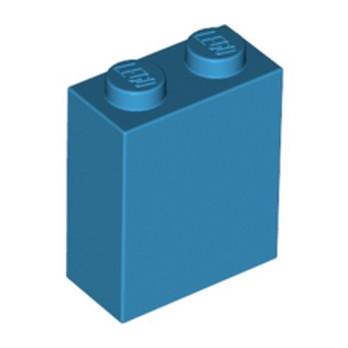 LEGO 6219792 BRIQUE 1X2X2 - DARK AZUR