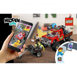 Notice / Instruction Lego Hidden Side 70421