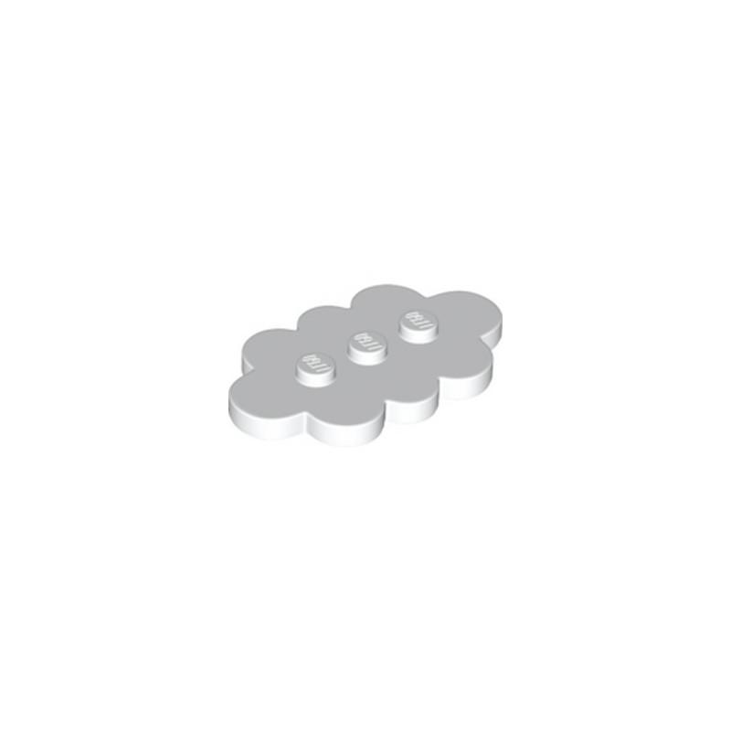 LEGO 6223667 PLAQUE NUAGE 3X5 - BLANC