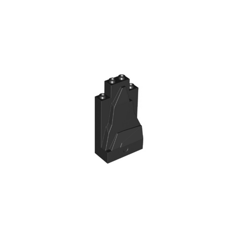 LEGO 6296048 ROCHER 2X4X6 - NOIR