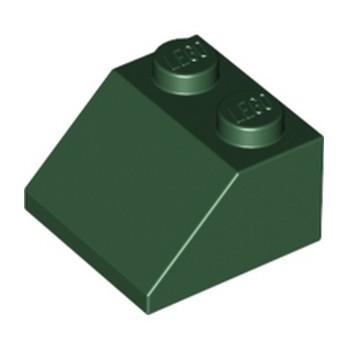 LEGO 6223304 TUILE 2X2/45° - EARTH GREEN lego-6223304-tuile-2x245-earth-green ici :