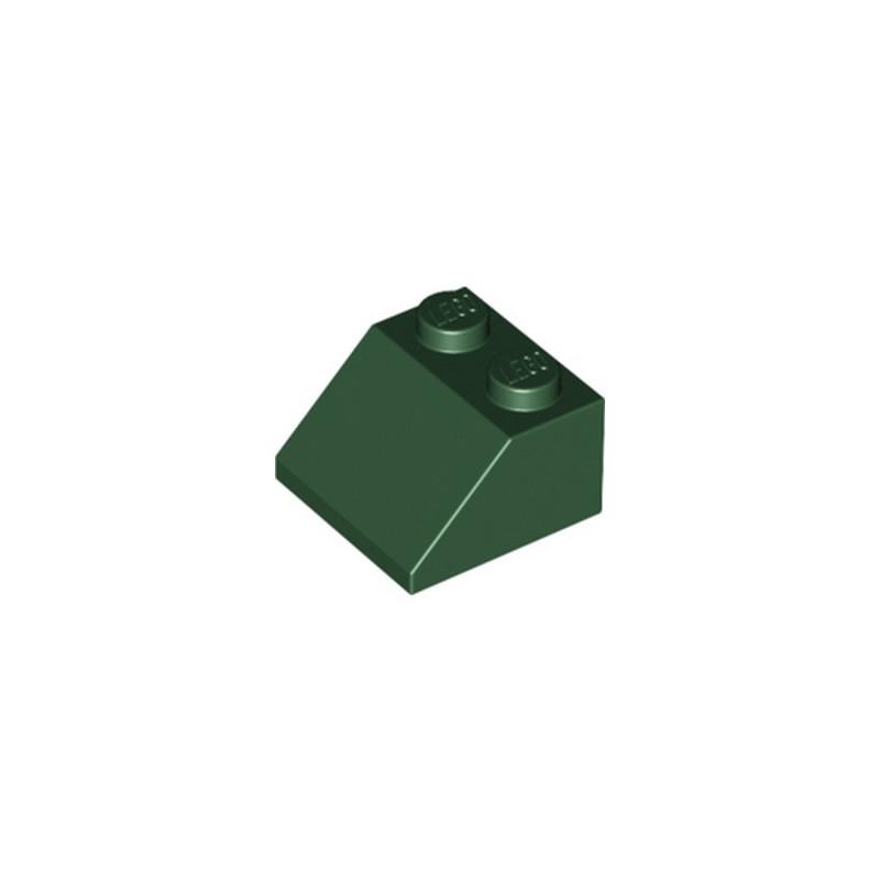 LEGO 6223304 TUILE 2X2/45° - EARTH GREEN