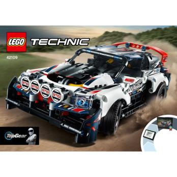 NOTICE / INSTRUCTION LEGO TECHNIC - 42109