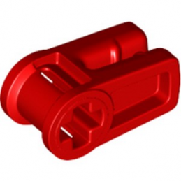 LEGO 6263067 WIRE CLIP, W/ CROSS HOLE  - ROUGE lego-6263067-wire-clip-w-cross-hole-rouge ici :