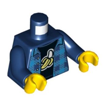 LEGO 6275889 TORSE - EARTH BLUE