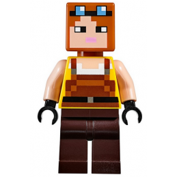 Mini Figurine LEGO® : Minecraft - Blacksmith
