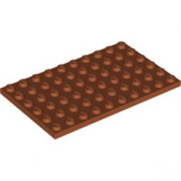LEGO 6263971 PLATE 6X10 - DARK ORANGE lego-6263971-plate-6x10-dark-orange ici :