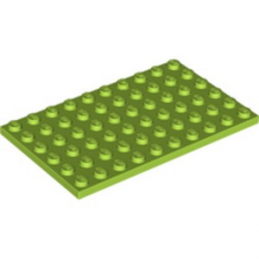LEGO 4172875 - PLATE 6X10 - BRIGHT LIGHT GREEN lego-6289699-plate-6x10-bright-light-green ici :
