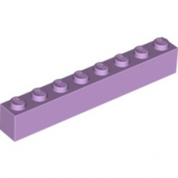 LEGO 6097868 BRIQUE 1X8 - LAVENDER