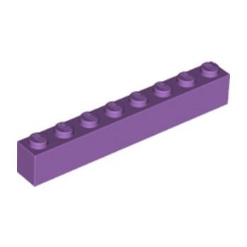 LEGO 6109970 BRIQUE 1X8 - MEDIUM LAVENDER