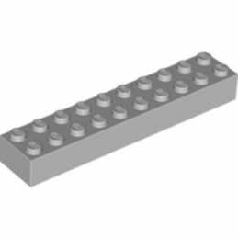 LEGO 4211390 BRIQUE 2X10 - MEDIUM STONE GREY