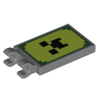 LEGO 6267604 DRAPEAU 2X3 IMPRIME MINECRAFT - DARK STONE GREY lego-6267604-drapeau-2x3-imprime-minecraft-dark-stone-grey ici :