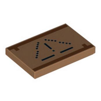 LEGO 6227167 PLAQUE  2X3 IMPRIME MINECRAFT - MEDIUM NOUGAT lego-6227167-plaque-2x3-imprime-minecraft-medium-nougat ici :