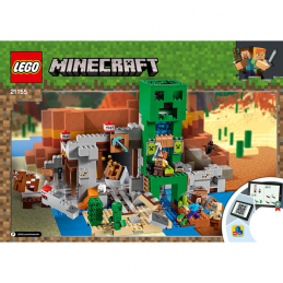 Notice / Instruction Lego  Minecraft 21155