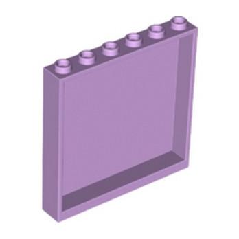 LEGO 6097864 MUR / CLOISON 1X6X5 - LAVENDER