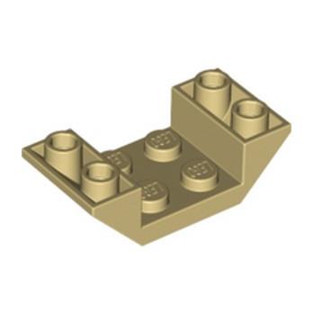 LEGO 6139363 ROOF TILE 2X4 INV. - BEIGE lego-6139363-roof-tile-2x4-inv-beige ici :