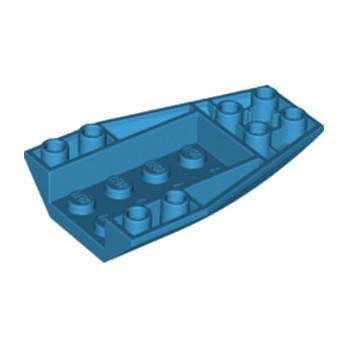 LEGO 6296060 BRIQUE 4 X 6 W/BOW, INVERTED - DARK AZUR