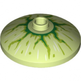 LEGO 6289307 PARABOLE 24X6.4 - SPRING YELLOWISH GREEN