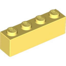 LEGO 6036232 BRIQUE 1X4 - COOL YELLOW