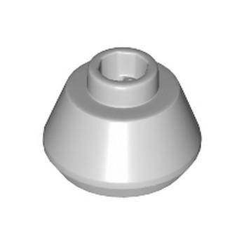 LEGO 6254404 MINI HAT 1.5 X1.5  - MEDIUM STONE GREY lego-6254404-mini-hat-15-x15-medium-stone-grey ici :