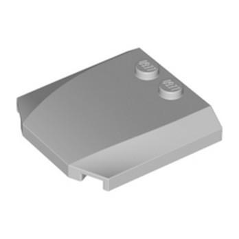LEGO 6264023 CAPOT 4X4X2/3 - MEDIUM STONE GREY lego-6264023-capot-4x4x23-medium-stone-grey ici :