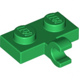 LEGO 6185996 PLATE 1X2 W. 1 HORIZONTAL SNAP - DARK GREEN lego-6185996-plate-1x2-w-1-horizontal-snap-dark-green ici :