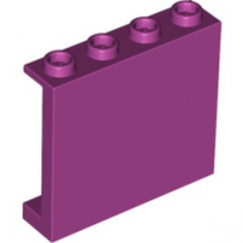 LEGO 6109866 MUR / CLOISON 1X4X3 - MAGENTA