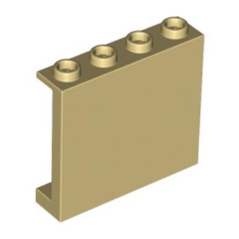 LEGO 6146877 MUR / CLOISON 1X4X3 - BEIGE lego-6146877-mur-cloison-1x4x3-beige ici :