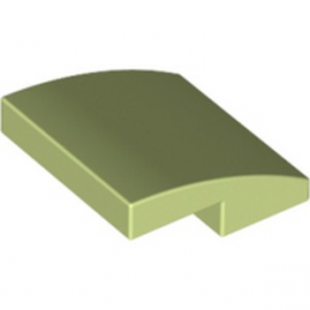 LEGO 6177166 BRIQUE DOME 2X2X2/3 - SPRING YELLOWISH GREEN