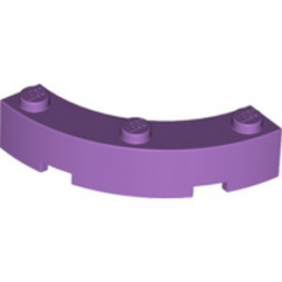 LEGO  6107742 BOW 1/4 4X4X1 - MEDIUM LAVENDER