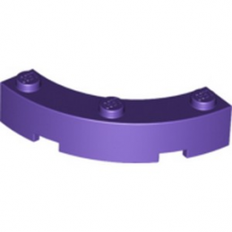 LEGO 6176192 BOW 1/4 4X4X1 - MEDIUM LILAC