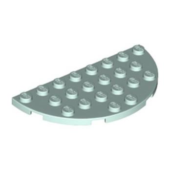 LEGO 6292996 1/2 ROND PLAT 4X8 - AQUA