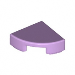 LEGO 6240465 PLATE LISSE 1/4 ROND 1X1 - LAVENDER