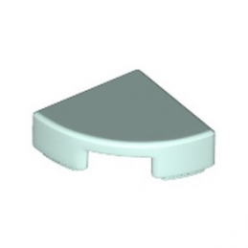 LEGO 6199886 PLATE LISSE 1/4 ROND 1X1 - AQUA