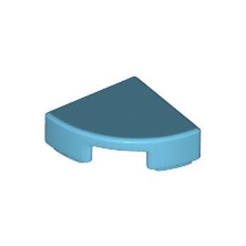 LEGO 6150307 PLATE LISSE 1/4 ROND 1X1 - MEDIUM AZUR