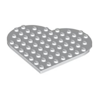 LEGO 6287308 COEUR 9X9 - BLANC lego-6287308-coeur-9x9-blanc ici :