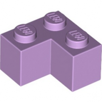 LEGO 6097870 BRIQUE D'ANGLE 1X2X2 - LAVENDER