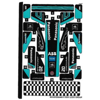 Stickers / Autocollant Lego Speed Champions 76898