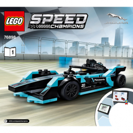 Notice / Instruction Lego Speed Champions 76898