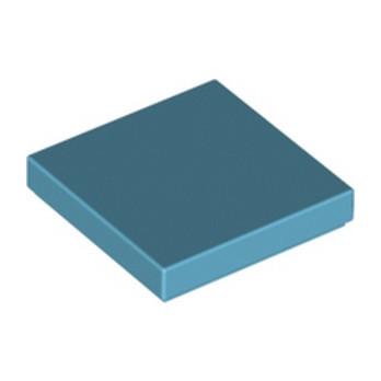 LEGO 6060857 PLATE LISSE 2X2 - MEDIUM AZUR
