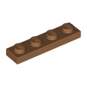 LEGO 6167700 PLATE 1X4 - MEDIUM NOUGAT
