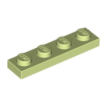 LEGO 6172742 PLATE 1X4 - SPRING YELLOWISH GREEN