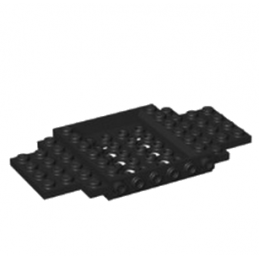 LEGO 6287679 CHASSIS 6X12X1 - NOIR